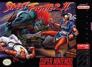 Street Fighter II: The World Warrior Cover Box