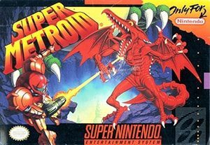 Super Metroid Cover Box