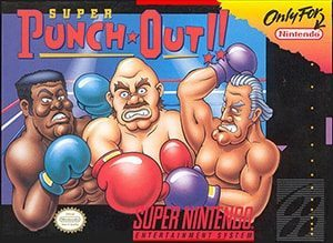 Super Punch-Out!! Cover Box
