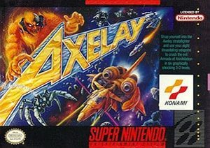 Axelay Cover Box