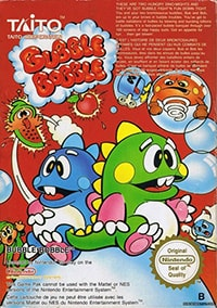 Bubble Bobble Cover Box
