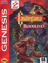 Castlevania: Bloodlines Cover Box