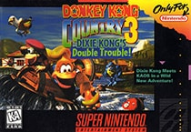 Donkey Kong Country 3: Dixie Kong's Double Trouble Cover Box