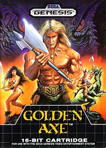 Golden Axe Cover Box