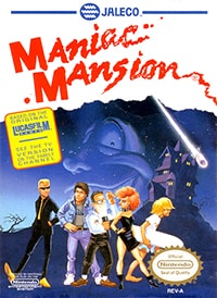 Maniac Mansion Cover Box