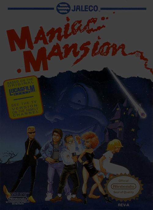 Maniac Mansion - NES Nintendo