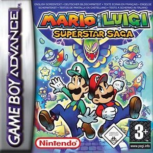 Mario & Luigi: Superstar Saga Cover Box