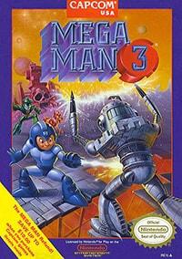 Mega Man 3 Cover Box