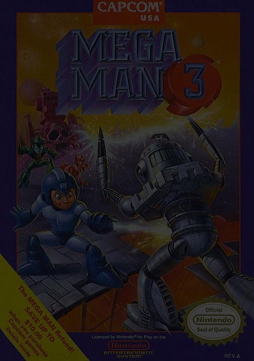 Mega Man 3 - NES Nintendo