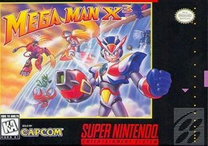 Mega Man X3 Cover Box