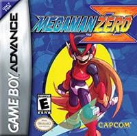 Mega Man Zero Cover Box