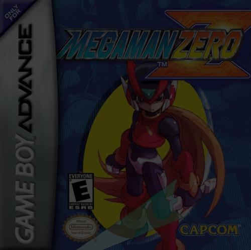 Mega Man Zero - GBA Game Boy