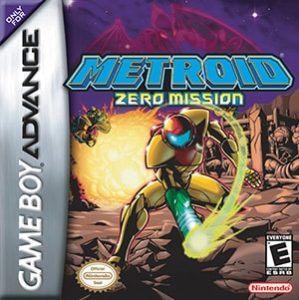 Metroid: Zero Mission Cover Box