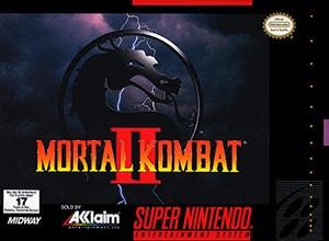 Mortal Kombat 2 Cover Box