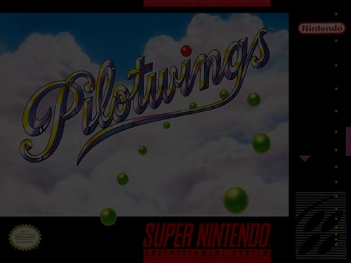 Pilotwings - Super Nintendo (SNES)