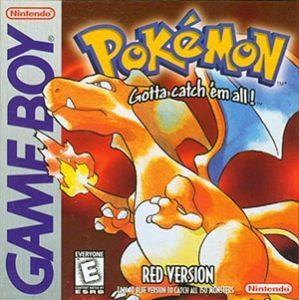 Pokemon Red Version Cover Box