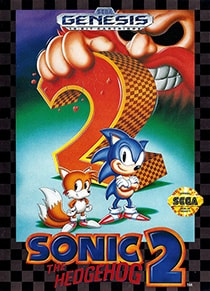 Sonic the Hedgehog 2 Cover Box