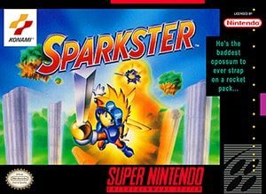 Sparkster Cover Box
