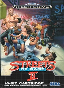 Streets of Rage 2 Cover Box