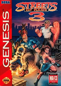 Streets of Rage 3 Cover Box
