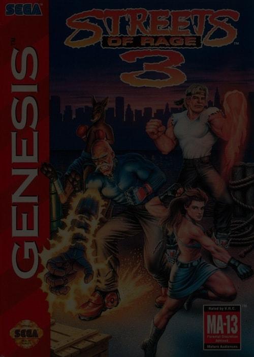Streets of Rage 3 - Sega Genesis