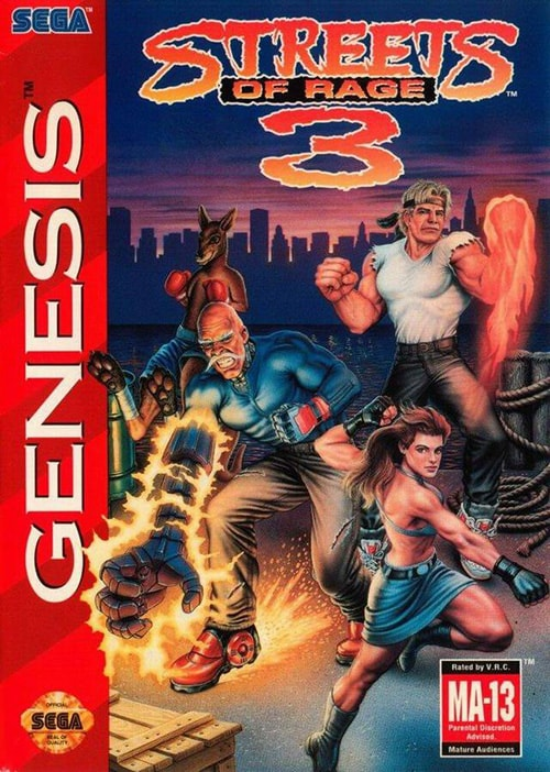 ▷ Play Streets of Rage 3 on Sega Genesis (Mega Drive