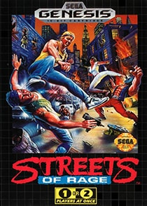 Streets of Rage Cover Box