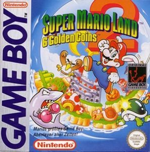 Super Mario Land 2 Cover Box