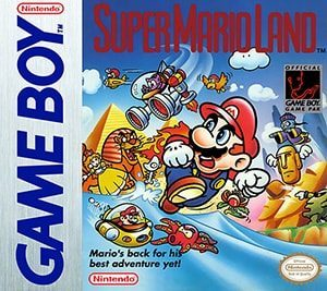 Super Mario Land Cover Box