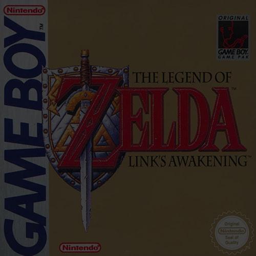 The Legend of Zelda: Link's Awakening DX - Game Boy (GBA)