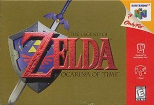 The Legend of Zelda: Ocarina of Time Cover Box
