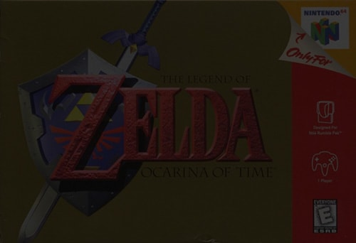 The Legend of Zelda: Ocarina of Time - Nintendo 64 (N64)