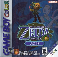 The Legend of Zelda: Oracle of Ages Cover Box