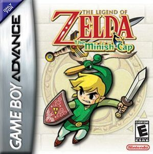 The Legend of Zelda: The Minish Cap Cover Box