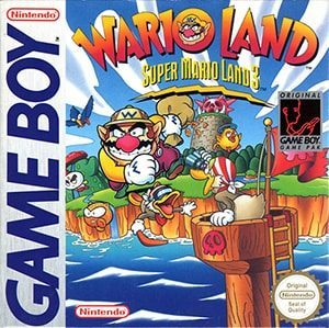 Wario Land: Super Mario Land 3 Cover Box