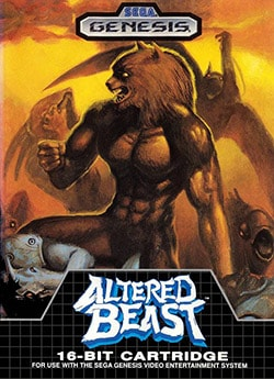 Altered Beast Cover Box