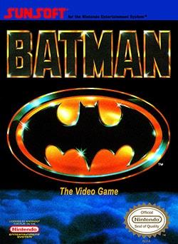 Batman: The Video Game Cover Box