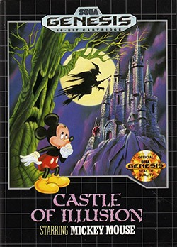 Castle of Illusion starring Mickey Mouse Cover Box