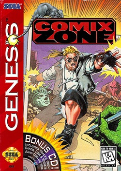 Comix Zone Cover Box