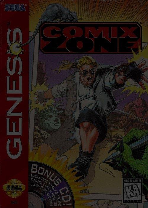 Comix Zone - Sega Genesis