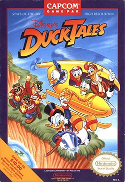 DuckTales Cover Box