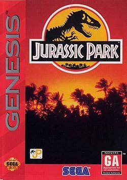Jurassic Park Cover Box