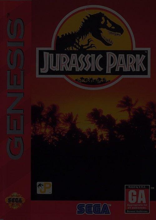 Jurassic Park - Sega Genesis
