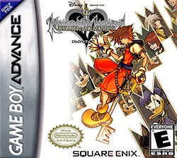 Kingdom Hearts: Chain of Memories Cover Box