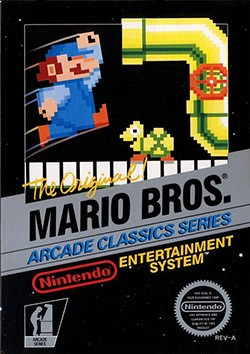 Mario Bros. Classic Cover Box