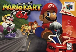 Mario Kart 64 Cover Box