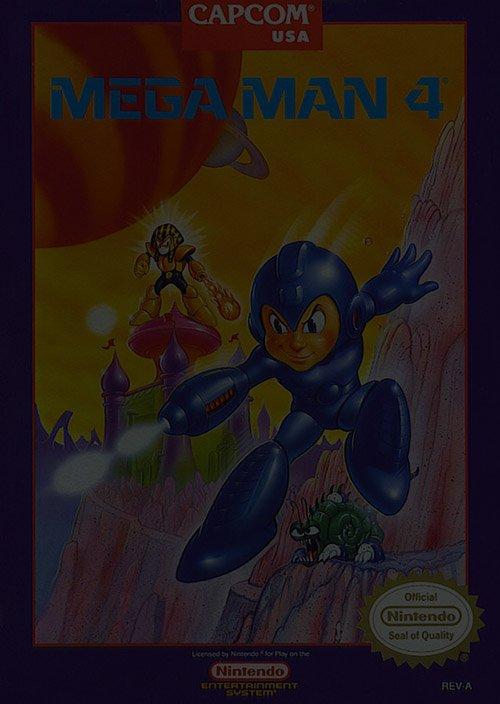 Mega Man 4 - Nintendo NES