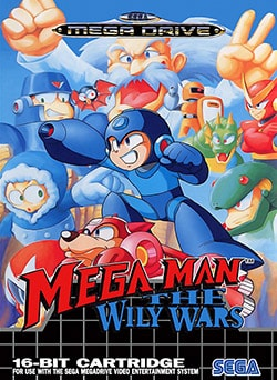 Mega Man: The Wily Wars Cover Box