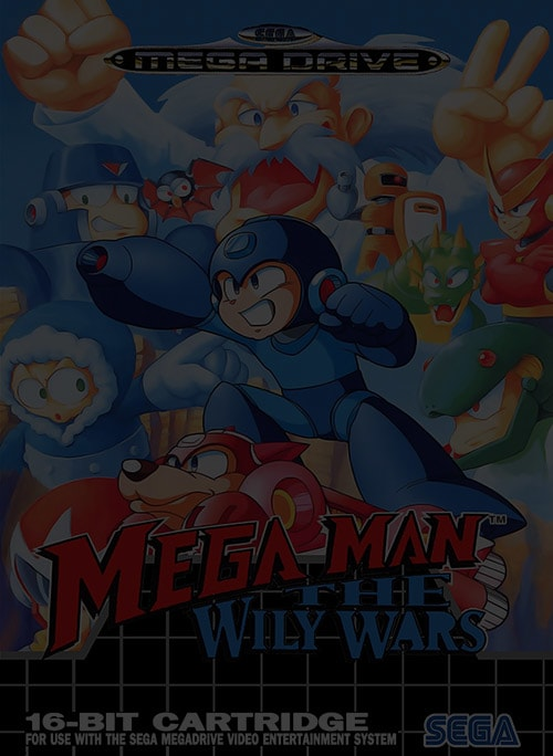Mega Man: The Wily Wars - Sega Genesis