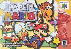 Paper Mario Cover Box